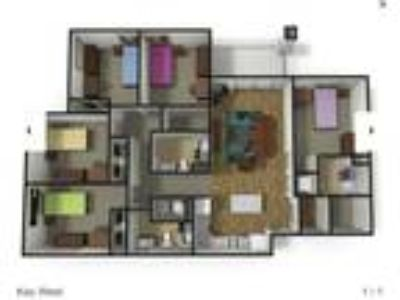 Roommate wanted to share 5+ Bedroom Three BA Apartment...