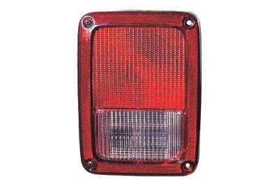 Find Replace CH2800177V - 07-12 Jeep Wrangler Rear Driver Side Tail Light Assembly motorcycle in Tampa, Florida, US, for US $82.60