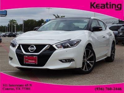 2018 Nissan Maxima Platinum (Pearl White)