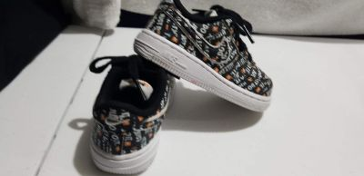 Boys Nike Air Force one Just do it size 7c