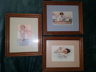 Bessie Pease Gutman Framed Art Prints