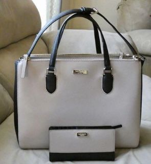 Kate Spade Leighann Laurel Way satchel with matching Kate Spade Stacy wristlet