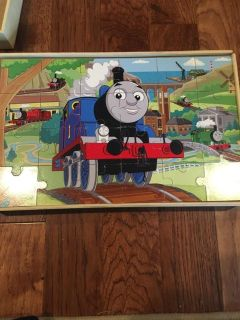 4 Thomas the train wooden puzzles