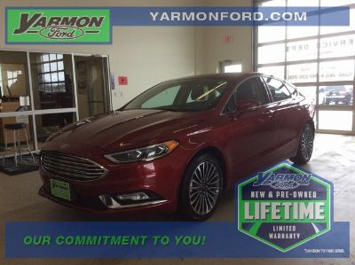 2017 Ford Fusion Titanium (Ruby Red)