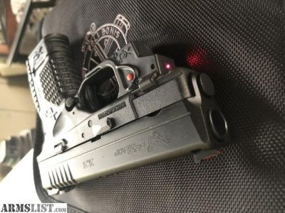 For Sale/Trade: Springfield xds45 essentials package with laser
