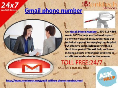 How Gmail Phone Number is the right way to deal with discover Gmail issues 1-850-316-4893?