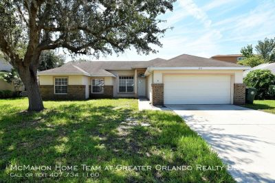 UPDATED 3br 2ba POOL HOME in Oviedo's Twin Rivers community!!