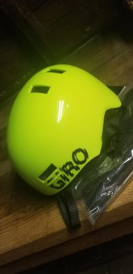 GIRO bike helmet with pads