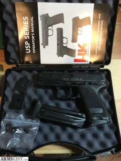 For Sale: HK USP9c - night sights