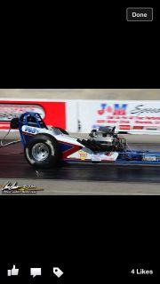 Front Engine Dragster &Trailer