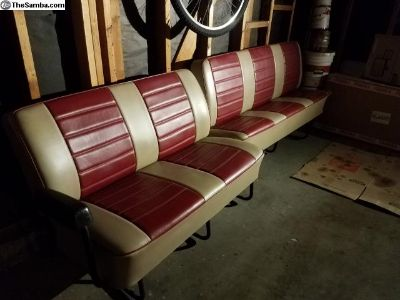 VW Bus Type 2 middle and rear seats
