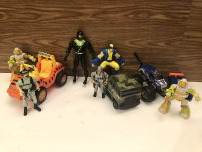 Boys Toy Lot! Vehicle, action figures etc! Take all for $3.50