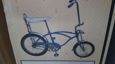 Schwinn Sting Ray 2007 Reproduction Blue Bicycle NEW IN BOX