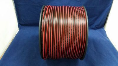 Purchase 22 GAUGE 200 FT RED BLACK ZIP WIRE AWG CABLE POWER GROUND STRANDED COPPER CAR motorcycle in Mulberry, Florida, United States, for US $26.95