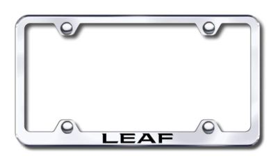 Find Nissan Leaf Wide Body Laser Etched Chrome License Plate Frame -Metal Made in US motorcycle in San Tan Valley, Arizona, US, for US $30.98