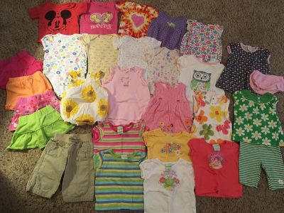 9 Month Girl Summer Clothing