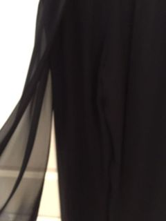 Evening Wear Pants..Side Panel That Flows Separately. Size Small