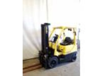 2008 LP Gas Hyster H35FT Pneumatic Tire 4 Wheel Sit Down