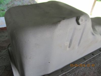 Sell 1967 1968 1969 Camaro,Nova BB 396 427 Oil Pan Double Baffle,Sandblasted, OEM motorcycle in Lake City, Florida, United States, for US $225.00