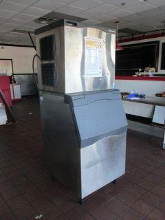 Scotsman 1077 Lb. Ice Machine and Bin RTR# 8123855-02