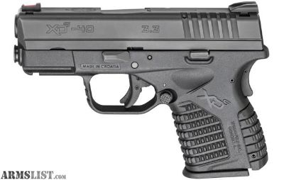 For Sale/Trade: Springfield XDS .40