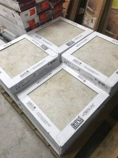 Daltile Forest Hills Crema 18 Inch Floor and Wall Tile - 342 Square Feet