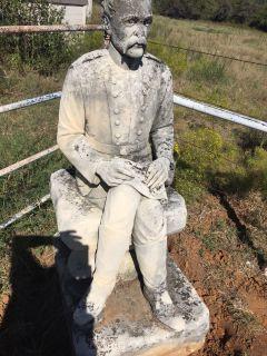 Robert E Lee Civil War Statue