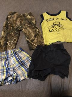 Baby boy clothes and toys