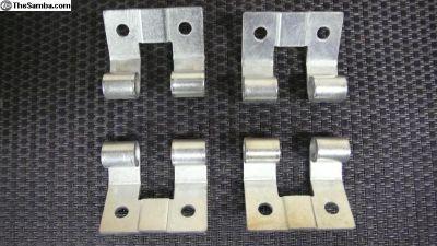 Bus gas accelerator pedal hinge