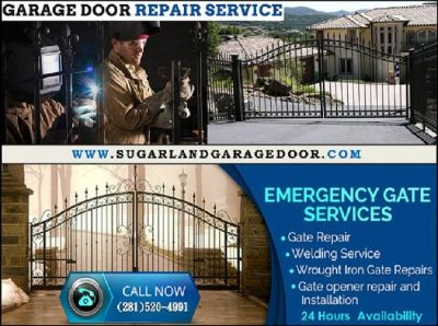Professional garage door repair within 1 Hour| $25.95 Sugar Land, 77498| Texas