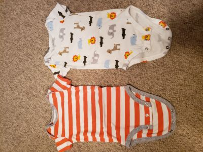 Carter's Child of Mine Onesies. 3-6 Month