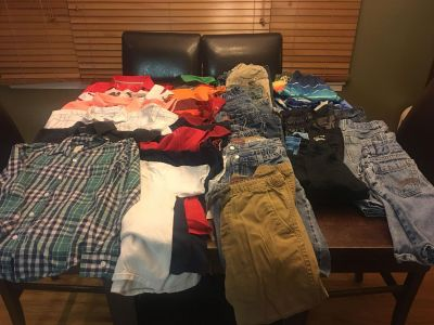 HUGE Lot of Boys 6/7 clothes