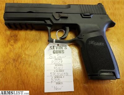 For Sale: Sig Sauer P250F