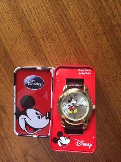 New Mickey Mouse watch in original box