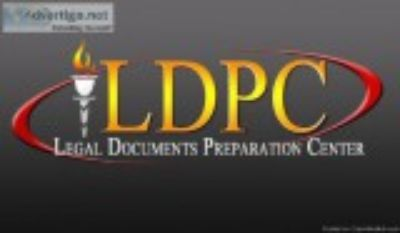 At Legal Document Preparation Center We Offer a Variety of Servi