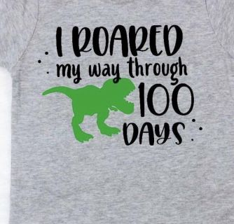 100 Days of School and Valentines Day Custom Tees!