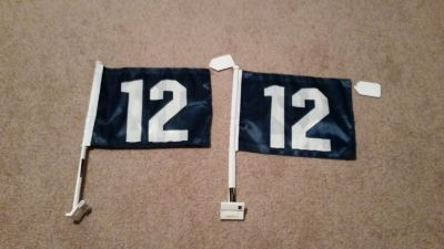 "***** SEATTLE SEAHAWKS ""12th Man"" 12x18 Car Flag ***** (NEW)"