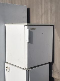Small refrigerator works great!