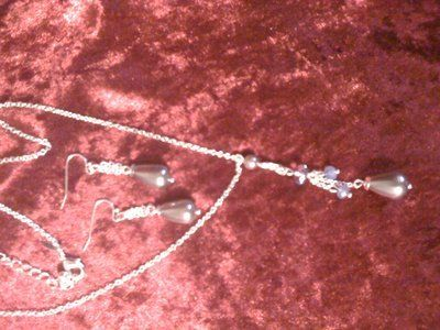 REDUCED!Set of fashion silver jewelry