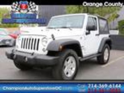 Used 2017 Jeep Wrangler White, 33.3K miles