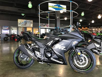2017 Kawasaki Ninja 300 ABS Winter Test Edition Sport Motorcycles Plano, TX