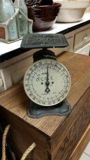 Old scales. Face redone 1845