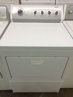 Kenmore 800 Series Gas Dryer in White