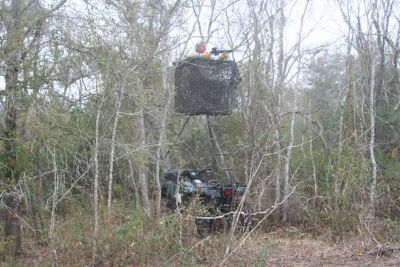 $375, Freedom ATV deerblind