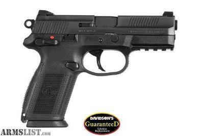 For Sale: NEW IN CASE FN AMERICA FNX-9 9MM DA 17RD BLACK FS