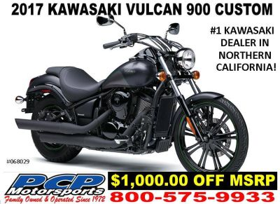 2017 Kawasaki Vulcan 900 Custom Cruiser Motorcycles Sacramento, CA