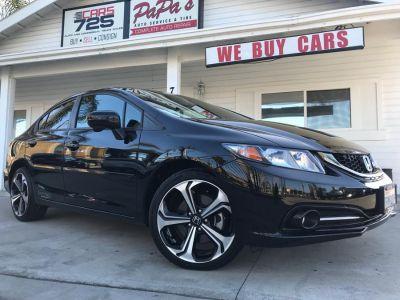 2014 Honda Civic Si (Crystal Black Pearl)