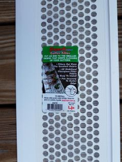 """14ea - BRAND NEW - Screened Gutter Covers {48"""" long} [G]"""
