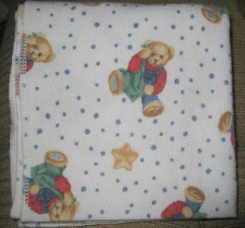 """AB MEET - Flannel Doggie/Puppy Blankets - Approximately 30"""" X 30"""" - GUC - Clean $2.00 each"""