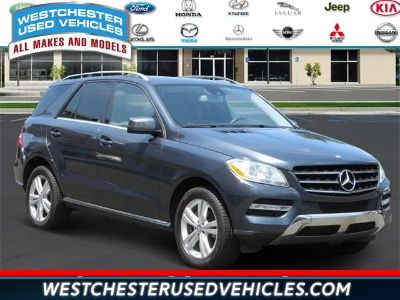 2014 Mercedes-Benz M-Class ML350 4MATIC (Steel Gray Metallic)